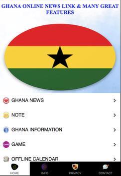 Ghana Online News Link poster