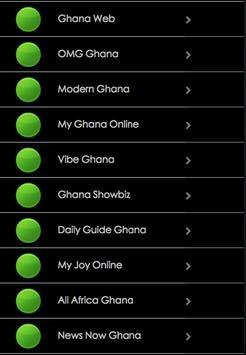 Ghana Online News Link apk screenshot