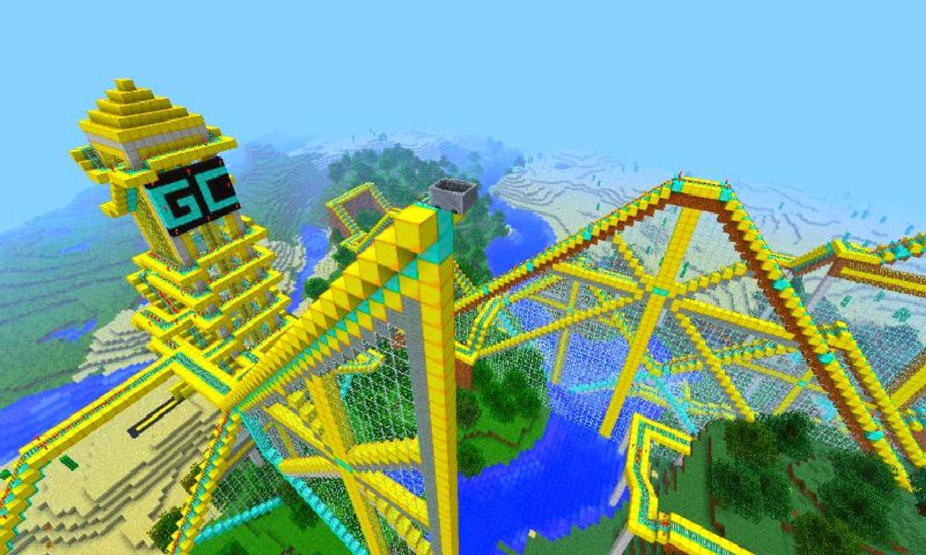 Roller Coaster Game Minecraft APKDownload Kostenlos Geduldsspiele - Minecraft rollercoaster spielen
