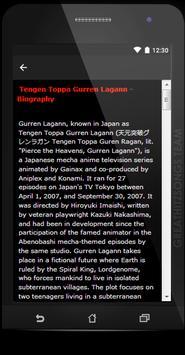 Tengen Toppa Gurren Lagann Songs & Lyrics, Update. screenshot 3