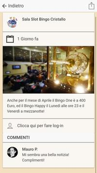 Sala Slot Bingo Cristallo apk screenshot