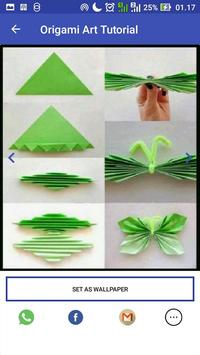 Origami Paper Art Tutorial screenshot 4
