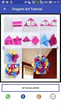 Origami Paper Art Tutorial screenshot 5