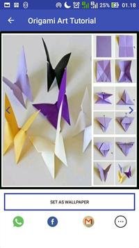 Origami Paper Art Tutorial screenshot 2