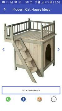 Modern Cat House Ideas apk screenshot