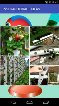 PVC Pipe Handicraft Ideas poster
