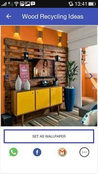 New Ideas of Wood Recycling apk screenshot