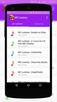 MC Lustosa Music Lyrics poster