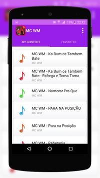 MC Lustosa Music Lyrics apk screenshot