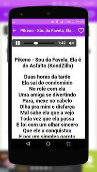 Mc Pikeno Music Lyrics apk screenshot