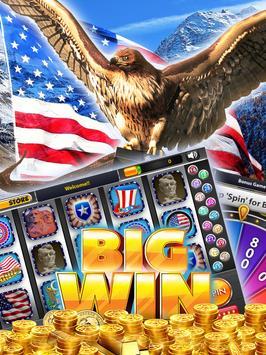 Wild Eagle of Liberty Slots poster