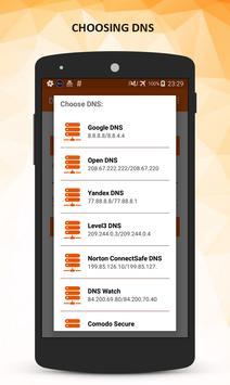 DNS Changer Pro (No Root) APK-screenhot