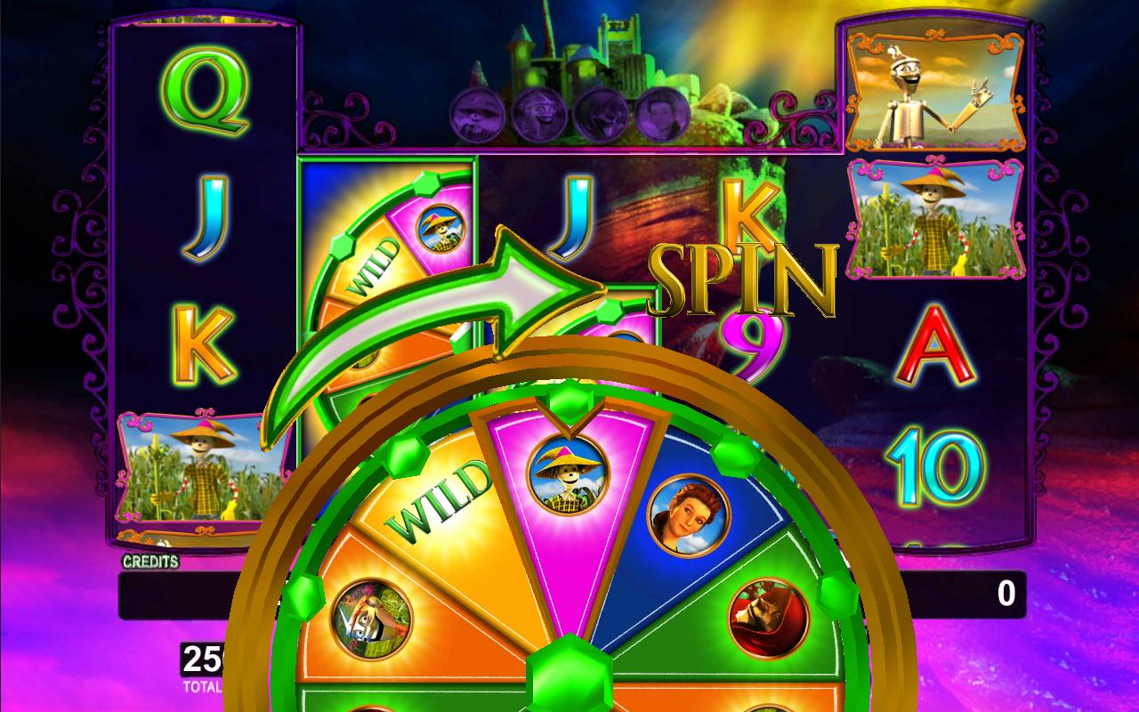 Slots the wizard of oz