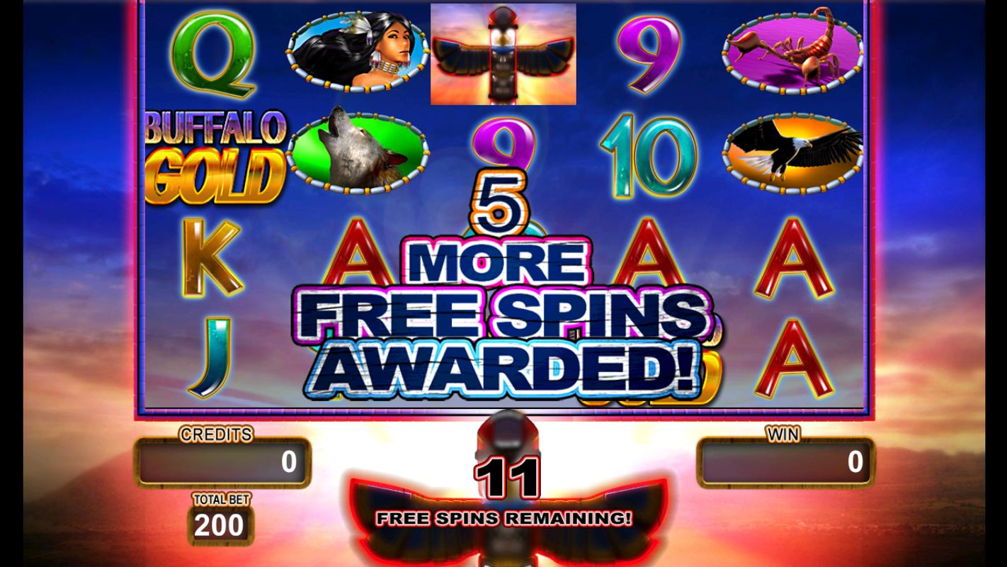 Free Buffalo Gold Slot Machine