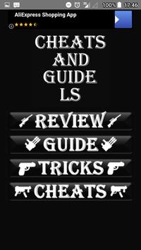 Cheat codes and guide for GTA Liberty City Stories screenshot 1