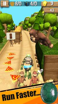Ninja Subway Turtle Games 🐢 apk screenshot