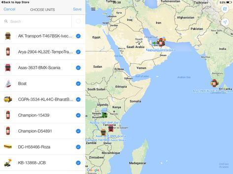 Vertex Simple Vehicle Tracking screenshot 13