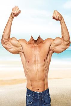 Muscle Man Photo Frame apk screenshot