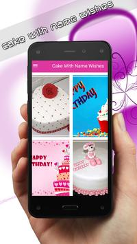 Cake with name wishes screenshot 1