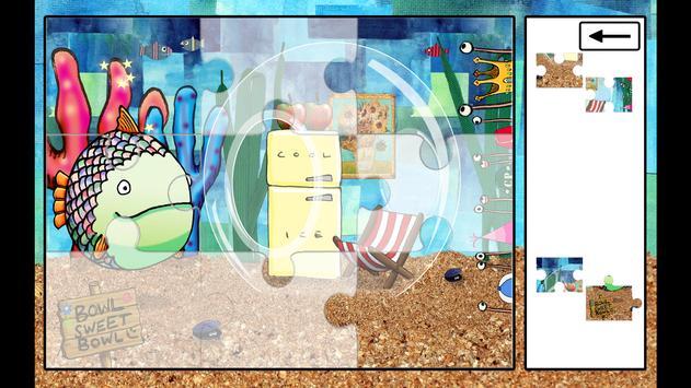 Greedy Fish Kids Jigsaw Puzzle apk screenshot