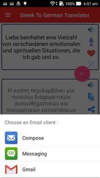 Greek German Translator screenshot 15