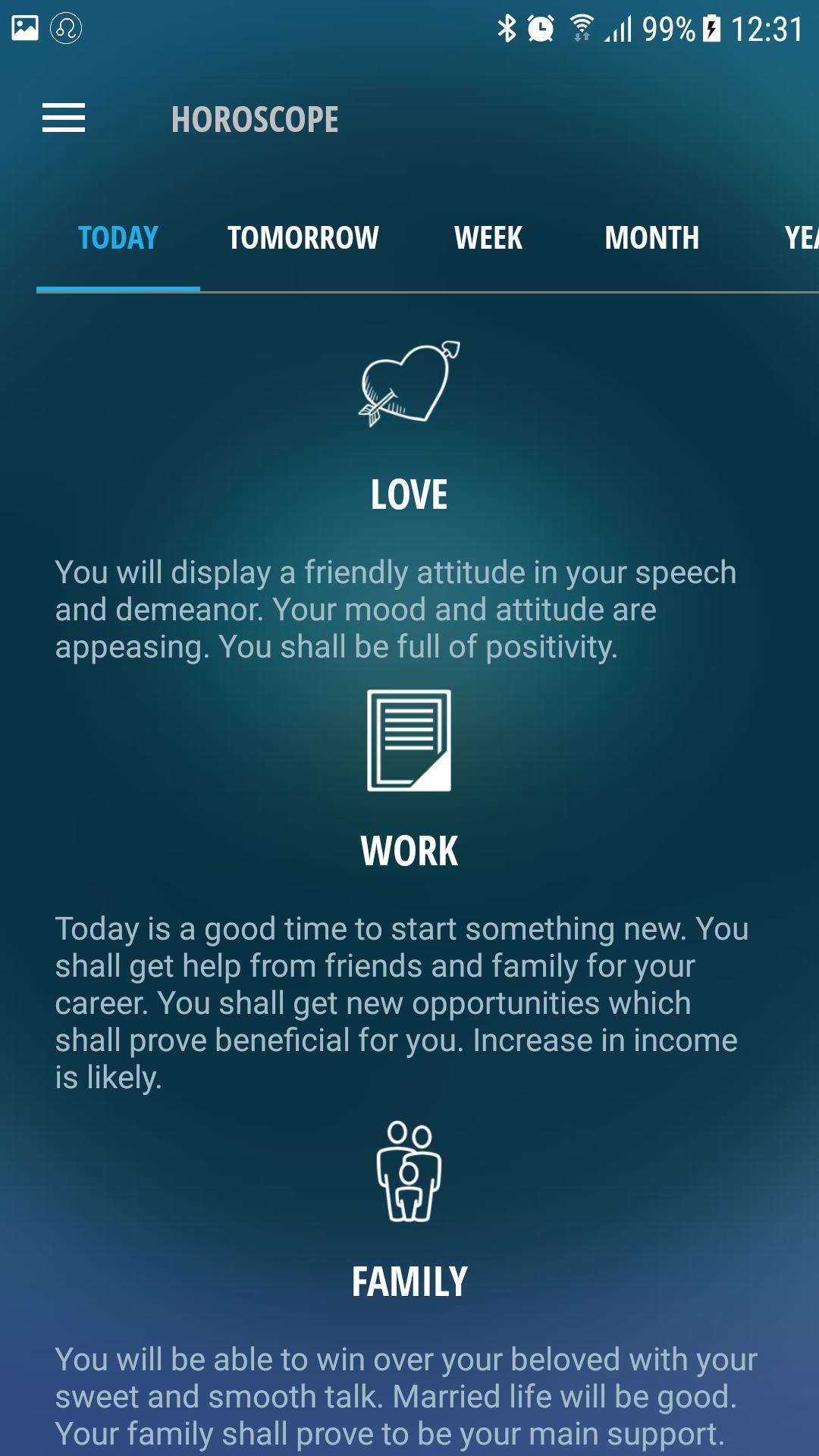 AQUARIUS Horoscope for today, tomorrow for Android - APK Download