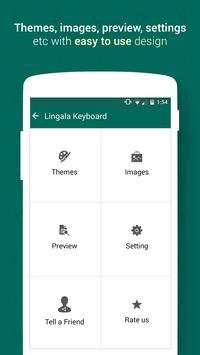 Lingala Keyboard screenshot 1