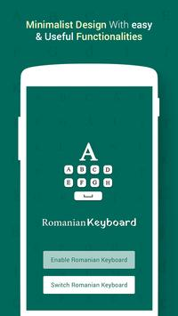 Romanian Keyboard poster