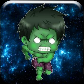 Green Strong Man Speed apk screenshot
