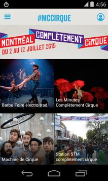 Montréal Complètement Cirque screenshot 1