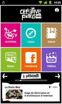 Creative Paris poster