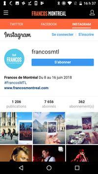 Francos de Montréal screenshot 2