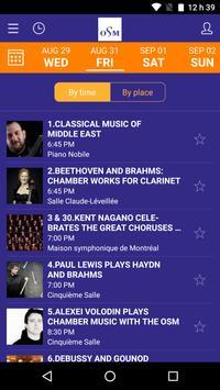 Orchestre symphonique Montréal apk screenshot