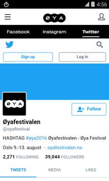 Øyafestivalen 2017 apk screenshot