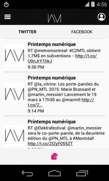 Printemps numérique 2015 apk screenshot
