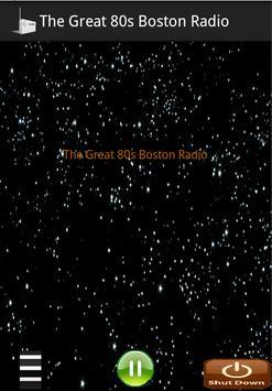The Great 80s Boston Radio poster