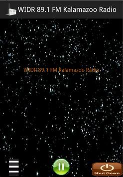 WIDR 89.1 FM Kalamazoo Radio poster
