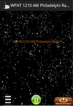 WPHT 1210 AM Philadelphi Radio poster