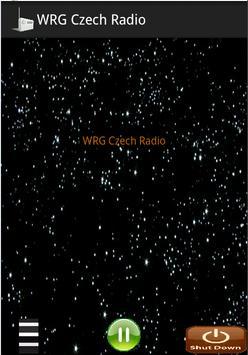 WRG Czech Radio poster
