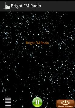 Player for Bright FM Radio screenshot 1