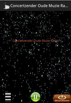 Concertzender Oude Muzie Radio poster