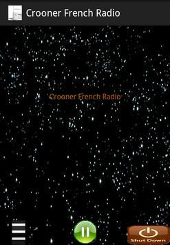 Crooner French Radio poster