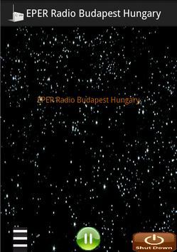 EPER Radio Budapest Hungary poster