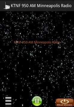KTNF 950 AM Minneapolis Radio poster