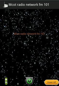 Mcot radio network fm 101 poster