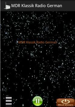 MDR Klassik Radio German apk screenshot