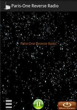 Paris-One Reverse Radio poster