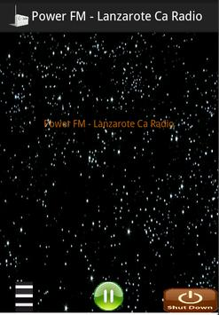Power FM - Lanzarote Ca Radio screenshot 1