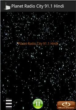 Planet Radio City 91.1 Hindi apk screenshot