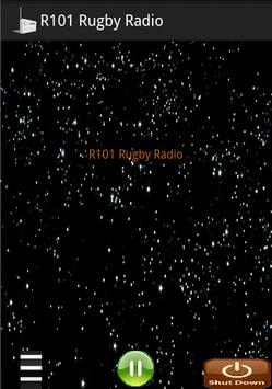 R101 Rugby Radio poster